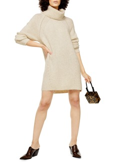 Topshop Turtleneck Sweater Dress