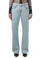 Topshop Unique 'Cauis' Bootcut Jeans