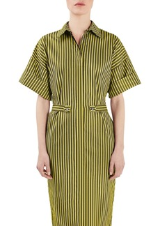 Topshop Unique Tiller Midi Shirtdress