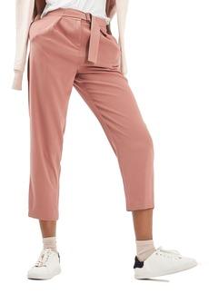 Topshop Utility Belt Peg Trousers