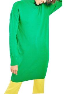 Topshop V-Detail Sweater Dress