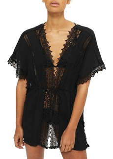 Topshop V-Neck Cover-Up Caftan
