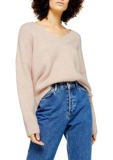 Topshop V-Neck Sweater