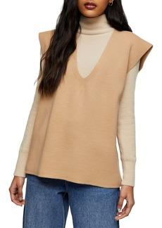 Topshop V-Neck Sweater Vest