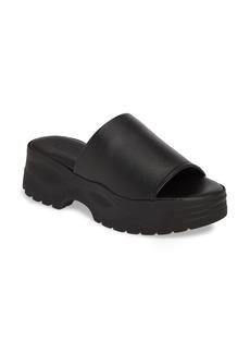 Topshop Volt Platform Slide Sandal (Women)
