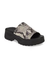 bd9dd0551501 Topshop Topshop Volt Platform Slide Sandal (Women)