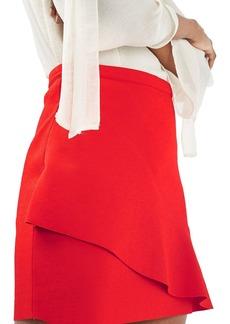 Topshop Wave Miniskirt