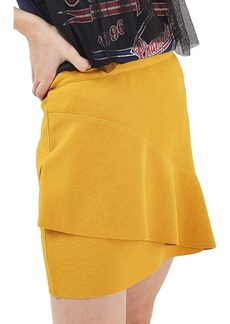 Topshop Wave Miniskirt (Petite)