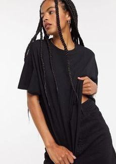 Topshop weekend t-shirt in black