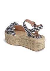 6227c205a4f Topshop Topshop Wendy Gingham Platform Sandal (Women)