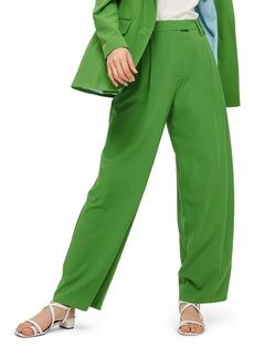 Topshop Wide Leg Suit Trousers