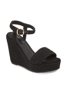 Topshop Wild Rope Platform Wedge Sandal (Women)