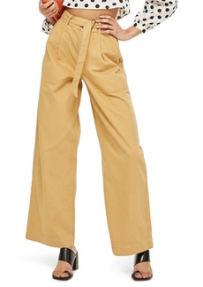 Topshop Wonder Wide Chino Trousers