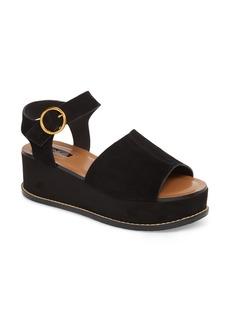 Topshop Wow Platform Wedge Sandal (Women)