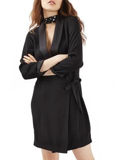 Topshop Wrap Blazer Dress