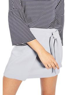 Topshop Wrap Miniskirt