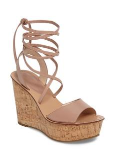 Topshop Wraparound Platform Wedge Sandal (Women)