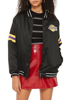 Topshop x UNK Lakers Bomber Jacket