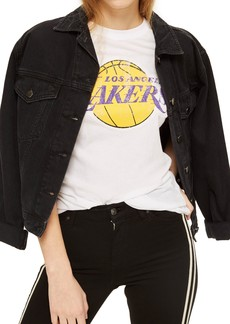 Topshop x UNK Lakers Graphic Tee