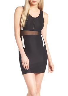 Topshop Zip Sporty Body-Con Dress