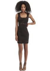 Topshop Eyelet Body-Con Dress (Regular & Petite)