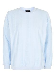 Towel Stripe Sweatshirt