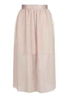 Tulle Prom Midi Skirt