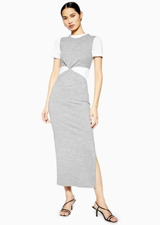 0436701945d Topshop Twist Knitted Dress By Boutique