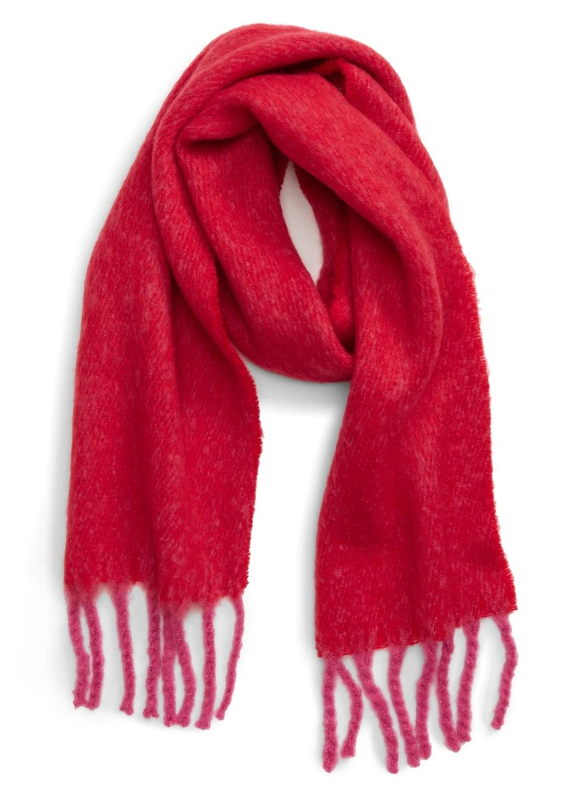 Topshop Two Tone Heavy Scarf
