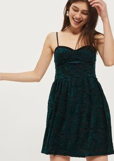 Velvet Devore Mini Dress By Band Of Gypsies