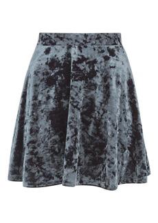 Velvet Flippy Skirt