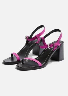 Topshop Verge Pink Sandals