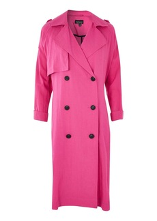 Washed Trench Coat