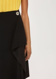 Waterfall Pencil Skirt By Boutique