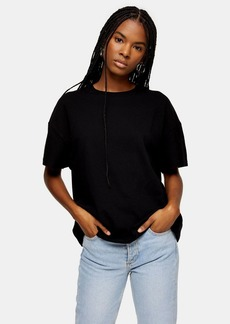 Topshop Weekend T Shirt In Black