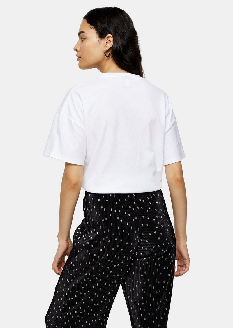 Topshop Weekend T Shirt In White