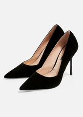 Topshop Wide Fit Gigi Skinny Heel Court Shoes