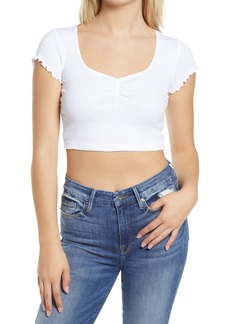 Women's Topshop 2-Pack Ruched Crop Tops