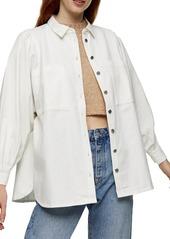 Women's Topshop Casual Button-Up Shirt