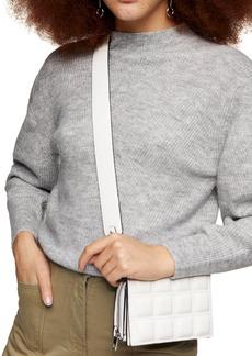 Women's Topshop Chevron Crop Sweater