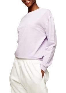 Women's Topshop Crewneck Sweatshirt