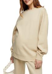 Women's Topshop Maternity Oversize Sweatshirt