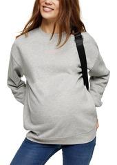 Women's Topshop Maternity Sweatshirt