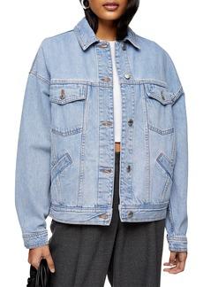 Women's Topshop Oversize Denim Jacket