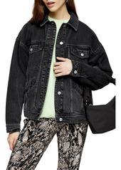 Women's Topshop Oversized Denim Jacket