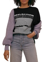 Women's Topshop Reflection Graphic Tee
