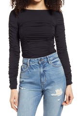 Women's Topshop Ruched Top