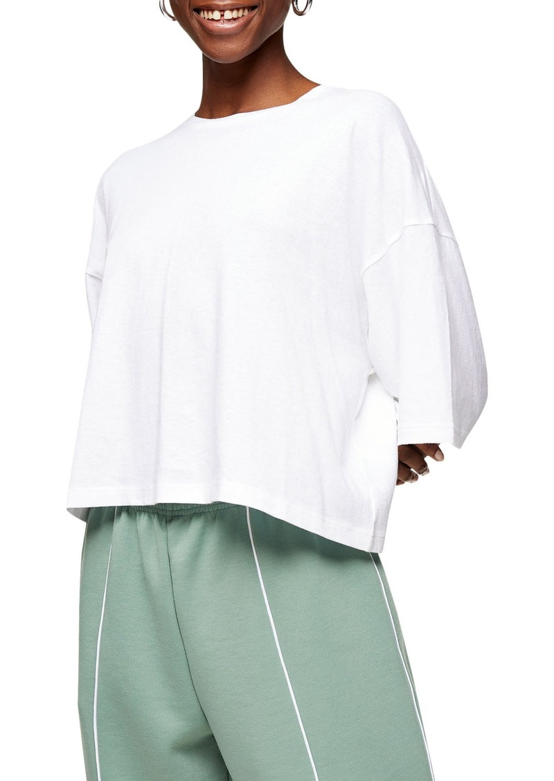 Women's Topshop Washed Boxy T-Shirt