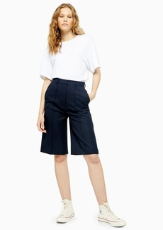 Wool Tailored City Shorts By Topshop Boutique