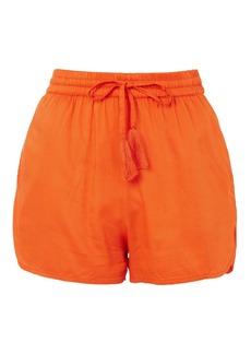 Topshop Woven Beach Shorts